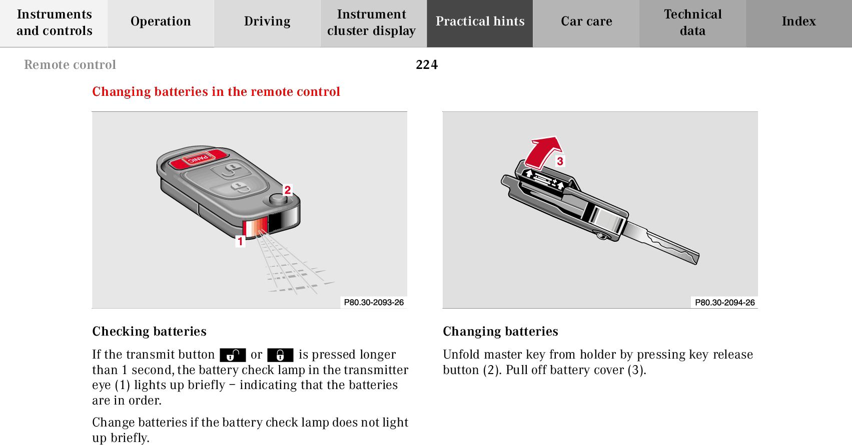 Mercedes Benz 2001 Slk 230 Kompressor Users Manual