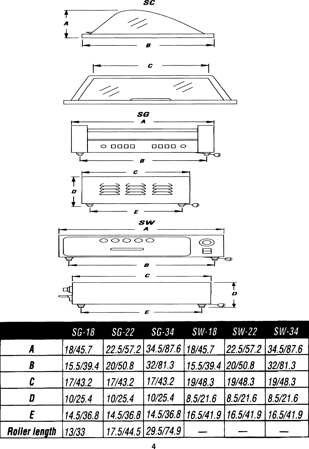Merco Savory Hot Dog Grill Sg 22 Users Manual Wiring Diagram Page 4 Of 8