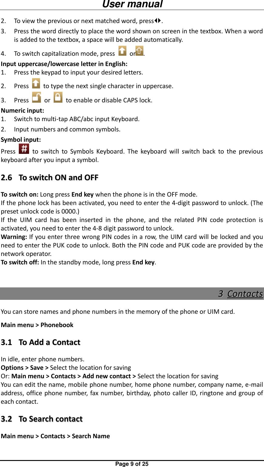 Micromax E390 Users Manual 欢迎使用