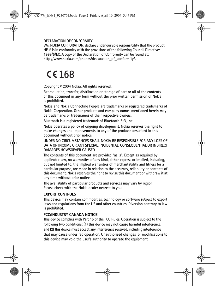 Microsoft HF-5 Bluetooth Hands Free Car Kit User Manual CK ... on
