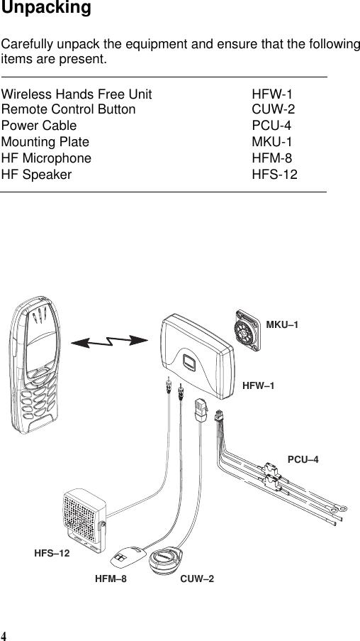 Microsoft HFW-1 Bluetooth Carkit User Manual on