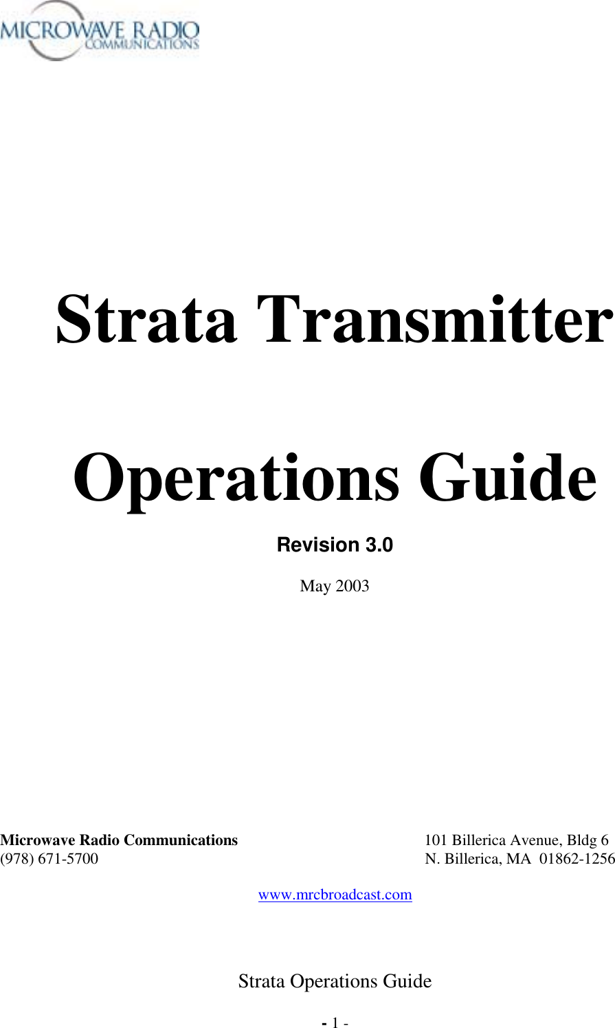 Microwave Radio Communications Statxu2d Strata Transmitter User Manual Le Sheet