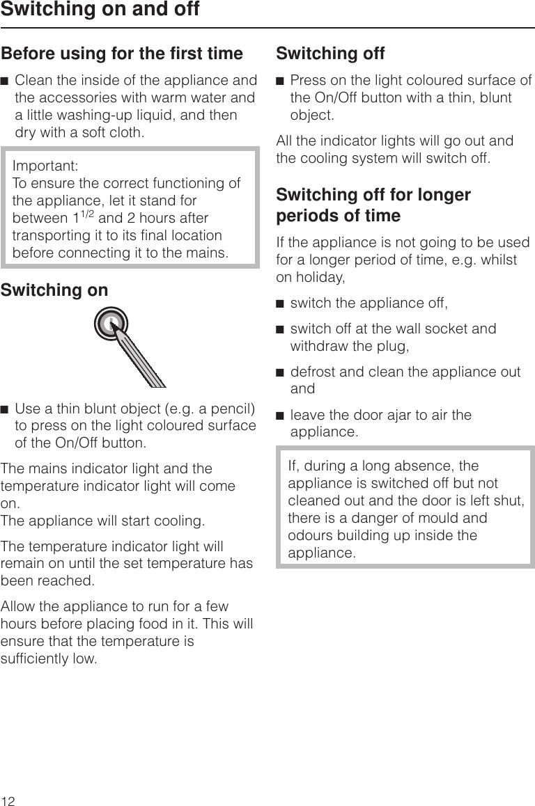 Mains Indicator