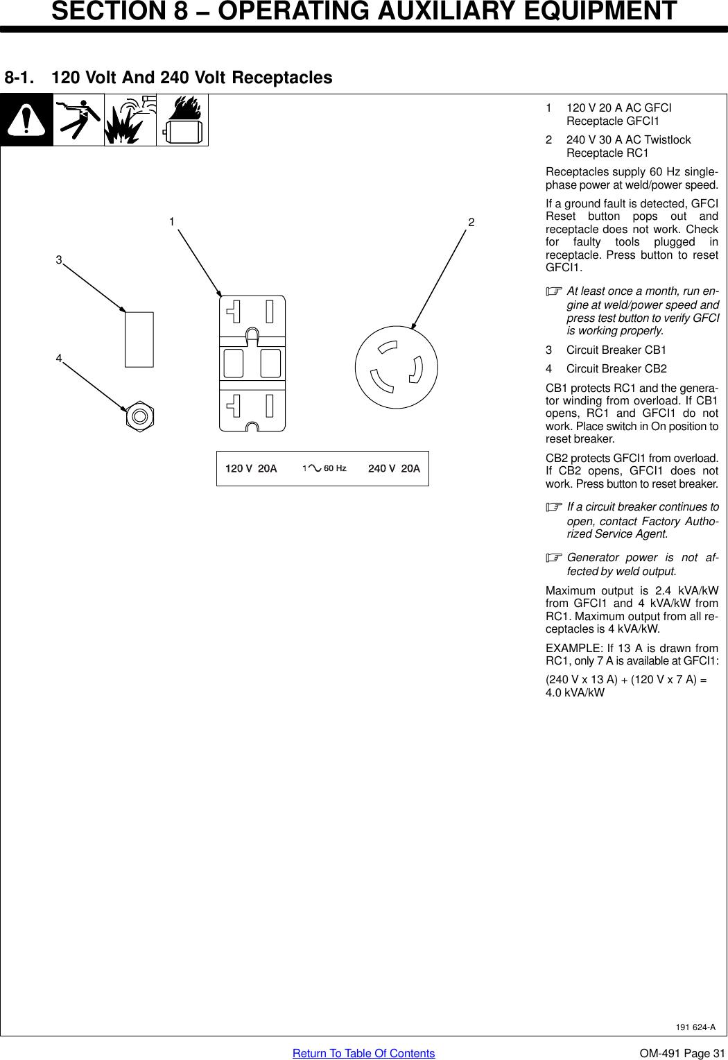 Miller Electric Big Blue 402P Users Manual O491ap_mil on