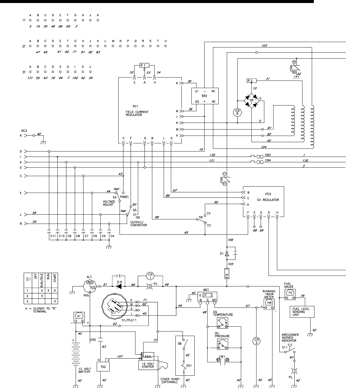 Miller Electric Big Blue 600d Users Manual Maxstar 200 Wiring Diagram Om 481 Page 30
