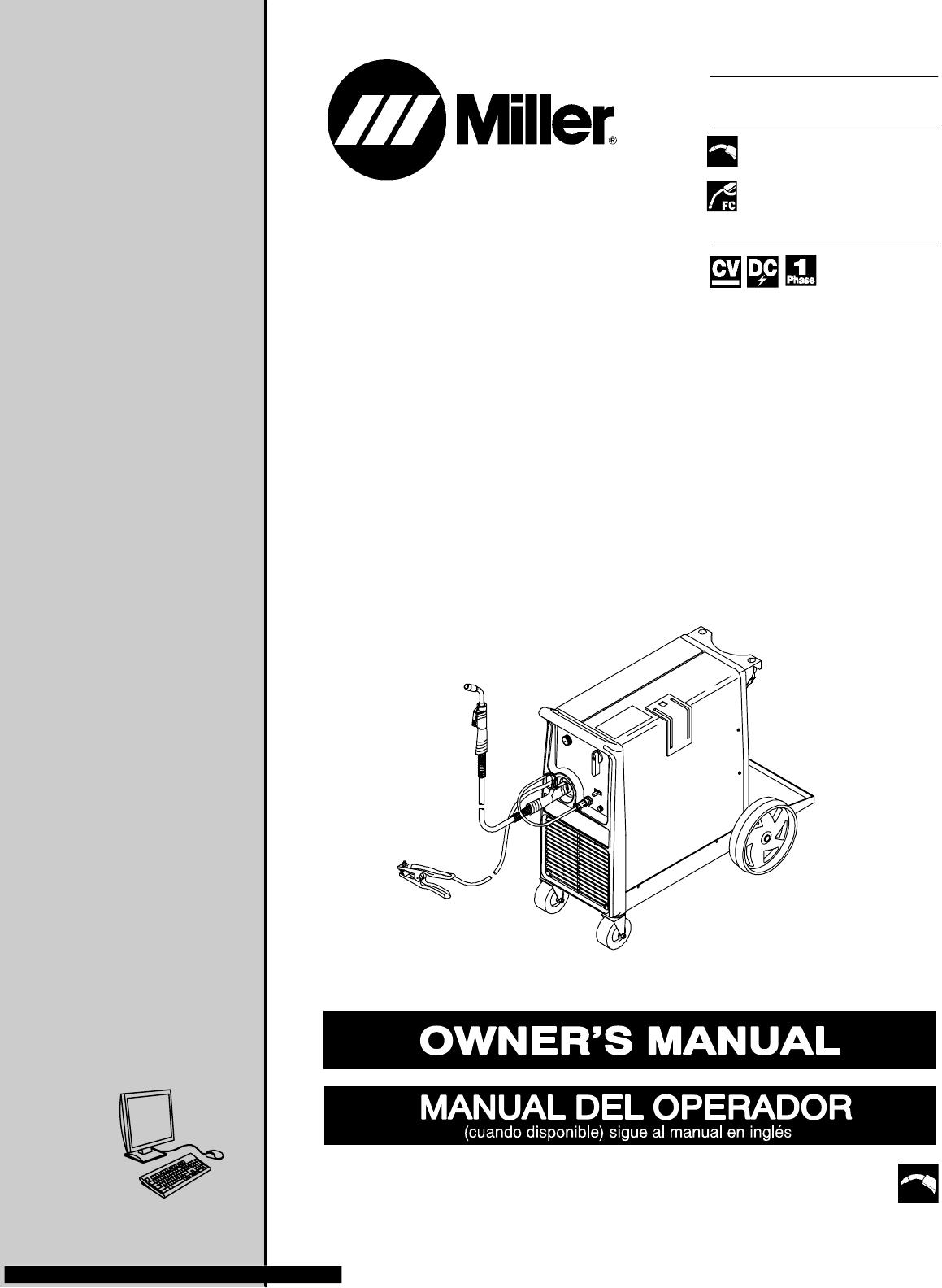 Miller Electric Millermatic 210 Owners Manual Manualslib