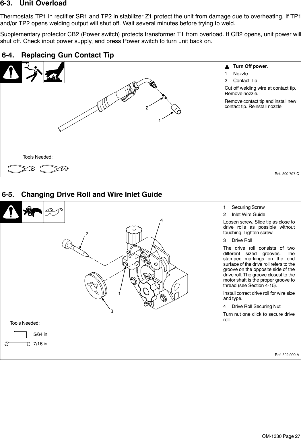 Miller Electric Millermatic Dvi Users Manual on