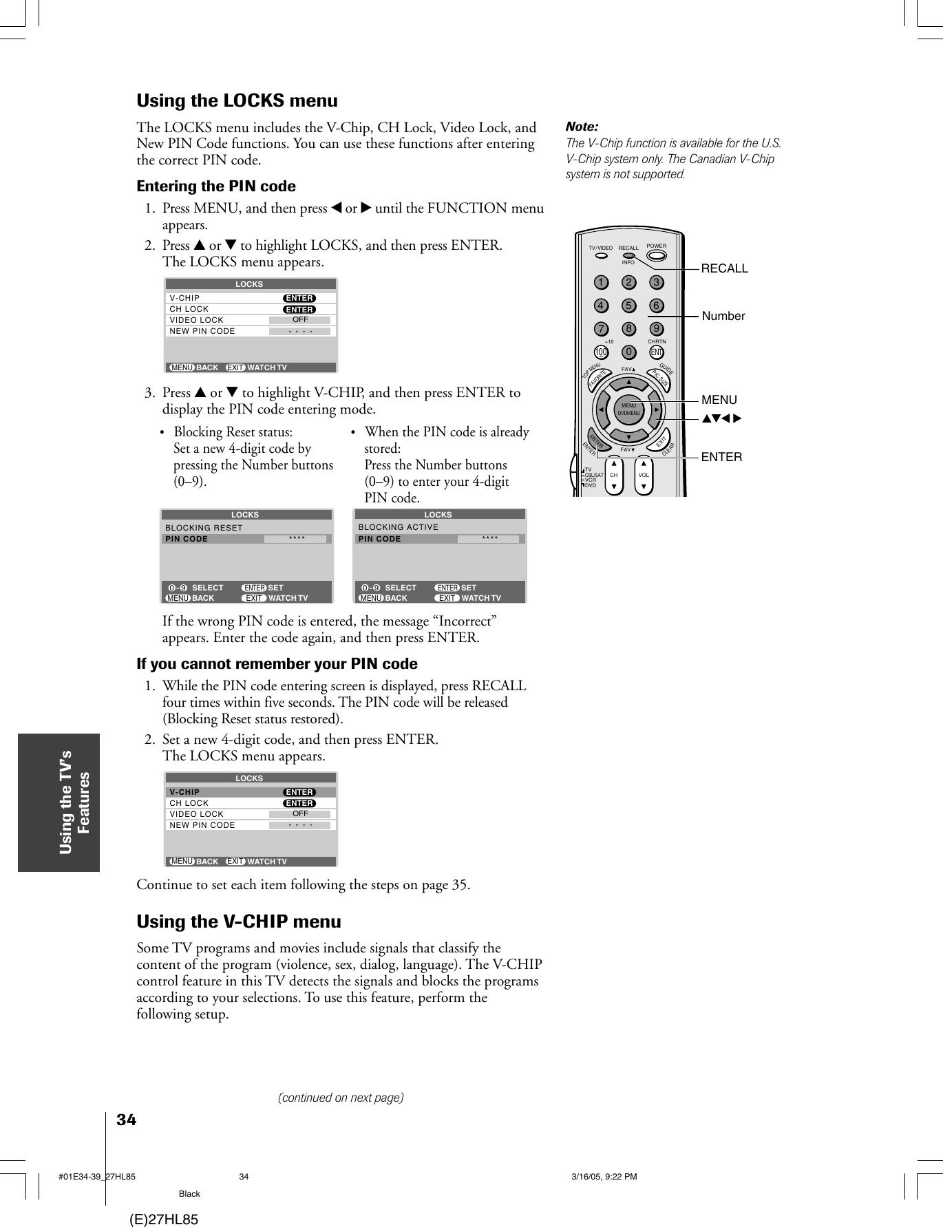 Mintek 27Hl85 Users Manual #01E01_27HL85