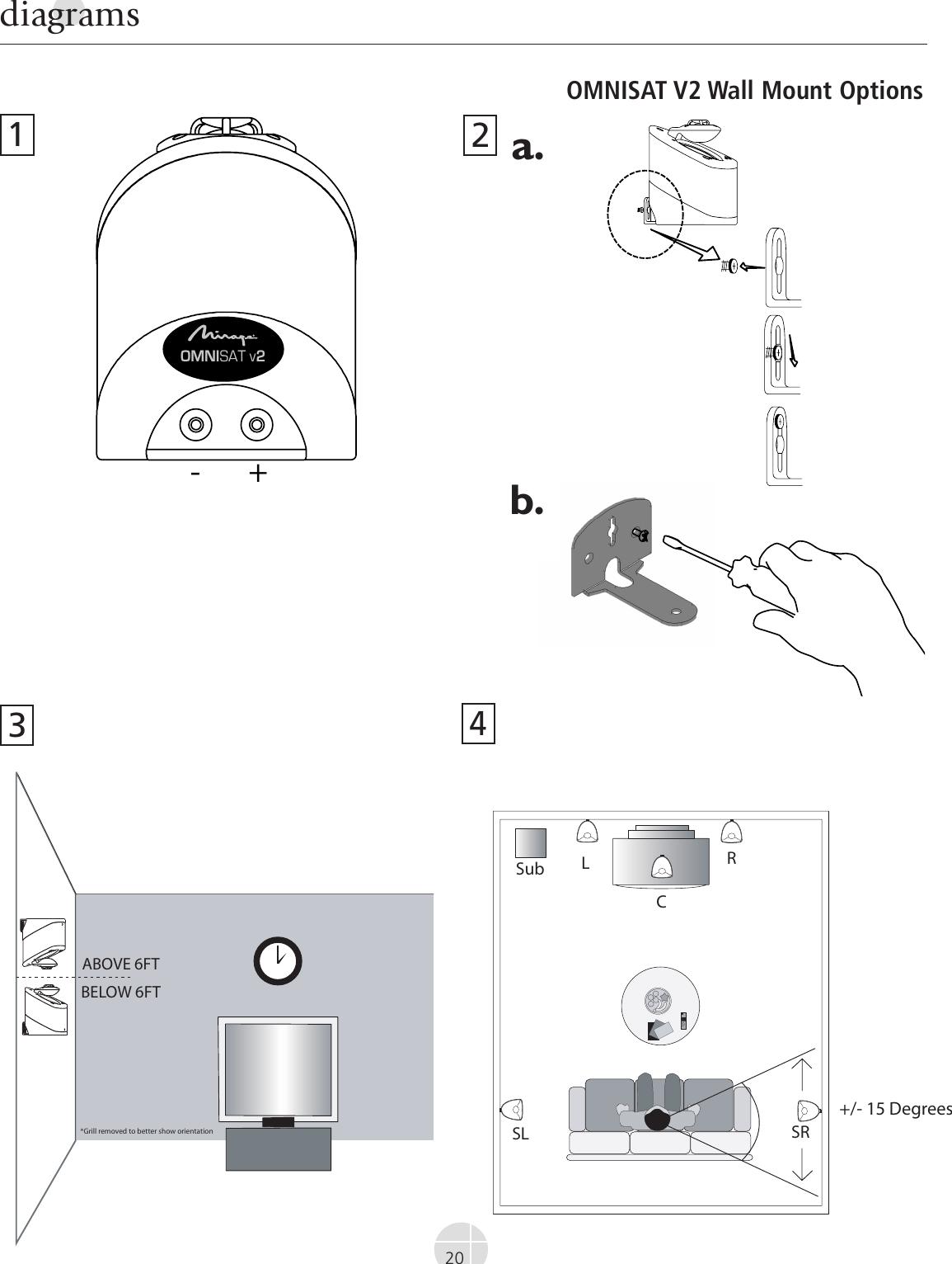 Mirage Loudspeakers Omnisat V2 Users Manual Print Omni Series 9 Lang Singles