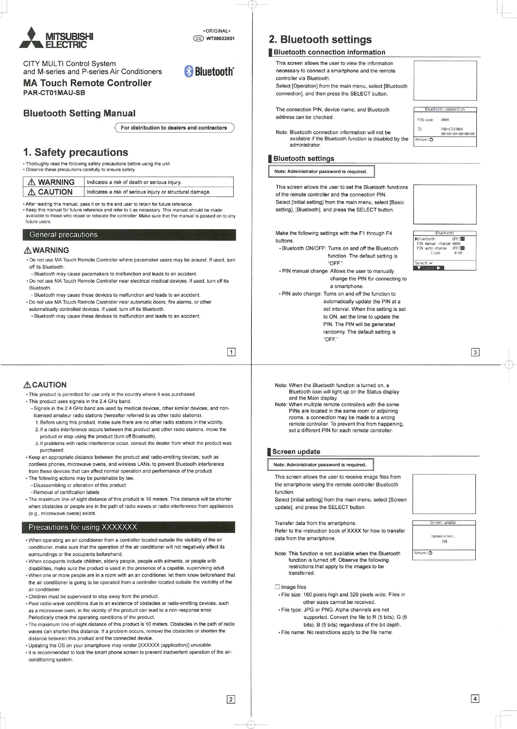 Mitsubishi Electric Air Conditioning And Refrigeration Manual Guide