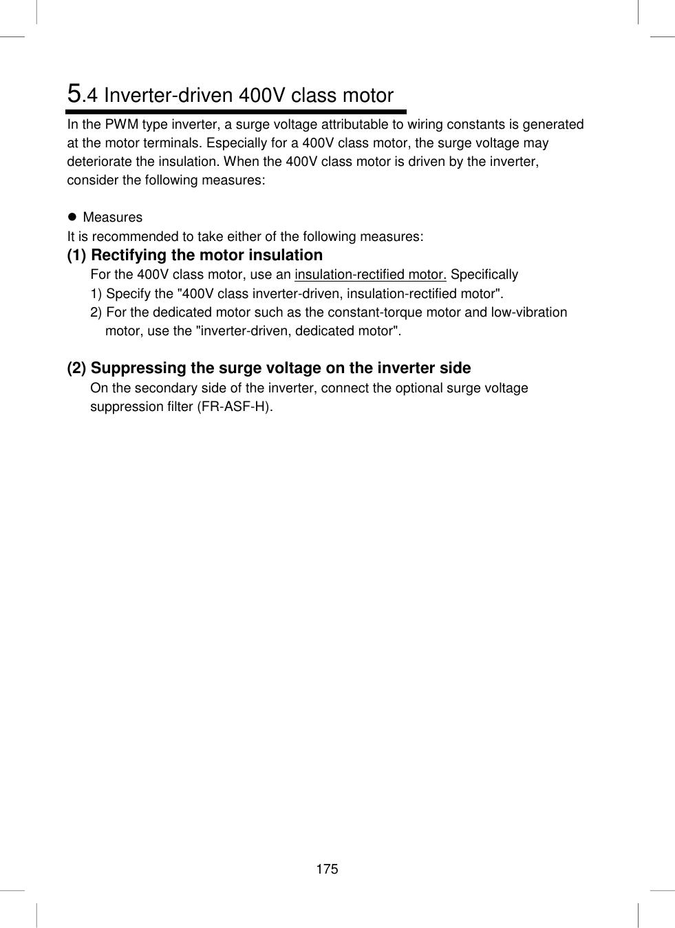 Mitsubishi Fr S500 Users Manual INSTRUCTION MANUAL(Detailed)