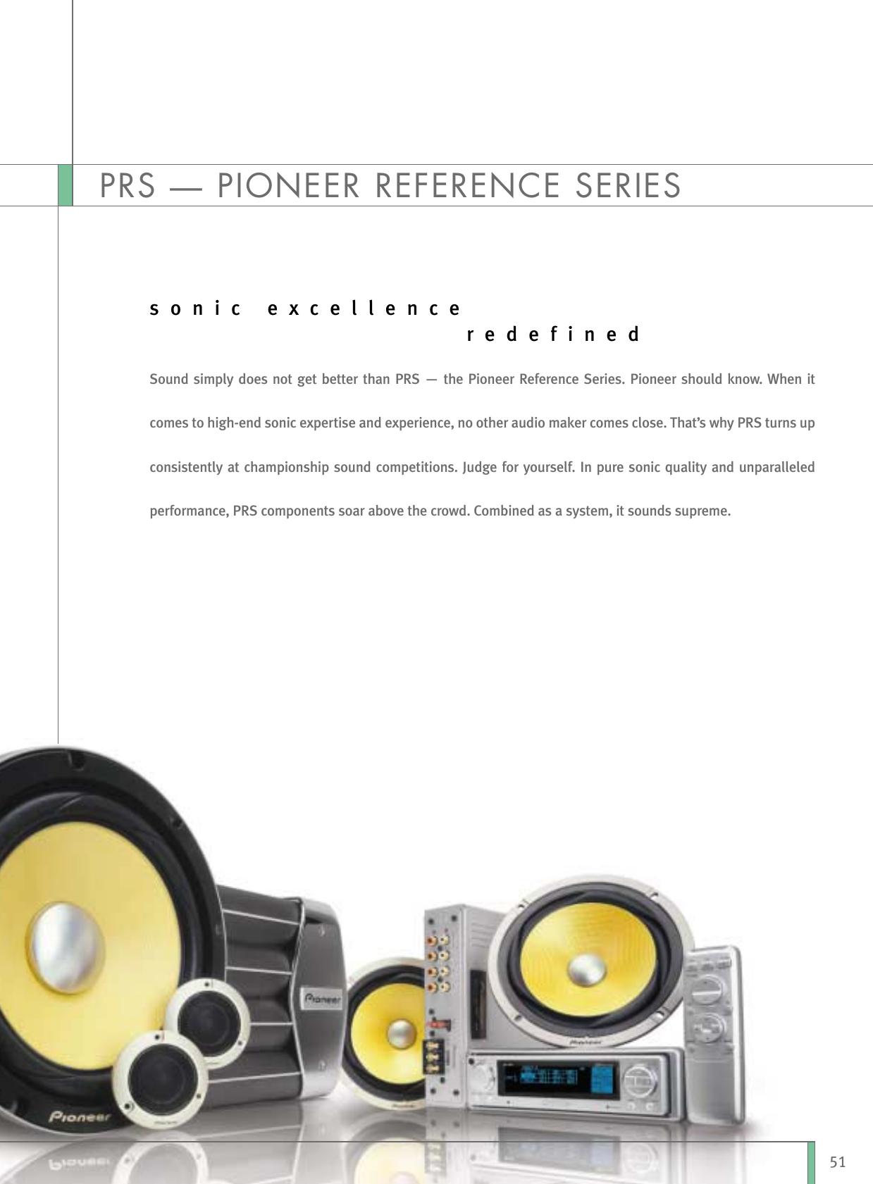 PIONEER Front Lautsprecher-Set Kompo für VW Fox ab 2003