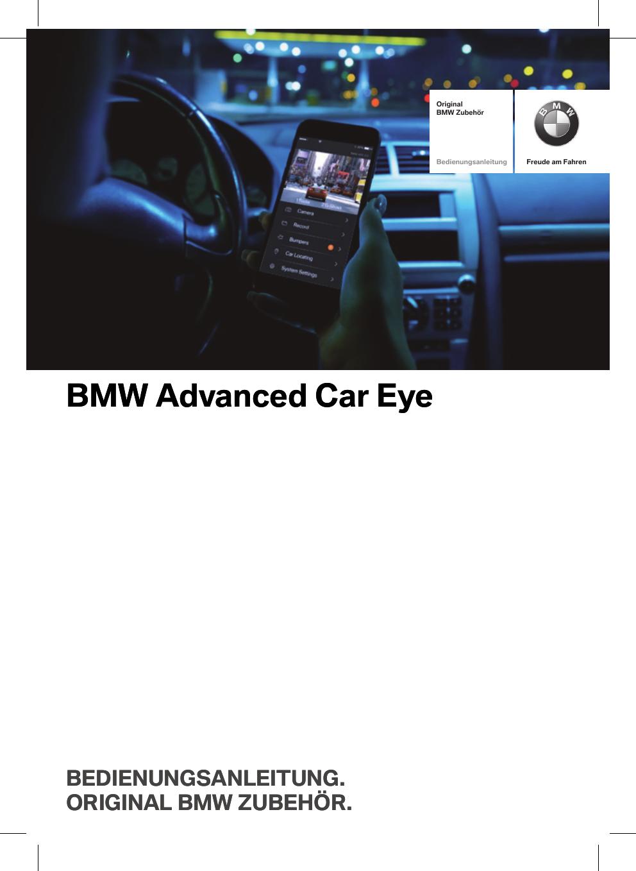 Image Of Bmw Advanced Car Eye 20 Camera Bmw Advanced Car Eye 20