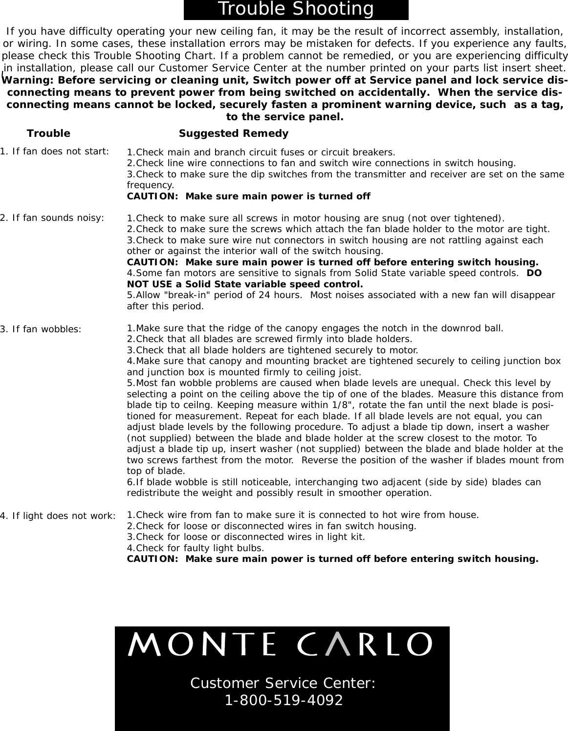 Monte Carlo Fan Company 5clr66xxd Series Users Manual How Does A Circuit Breaker Work1 Page 7 Of 8