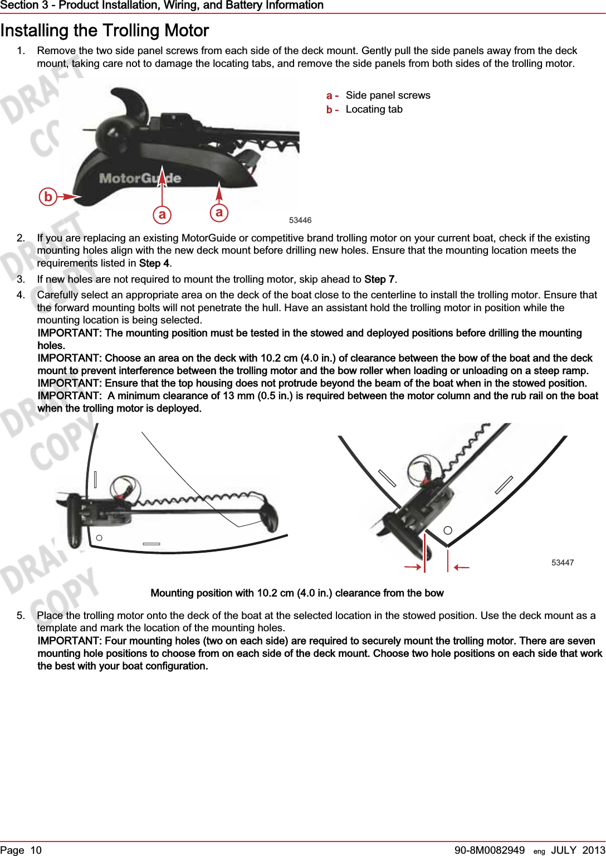 Fantastic Motorguide 12 24 Wiring Diagram Image - Electrical System ...