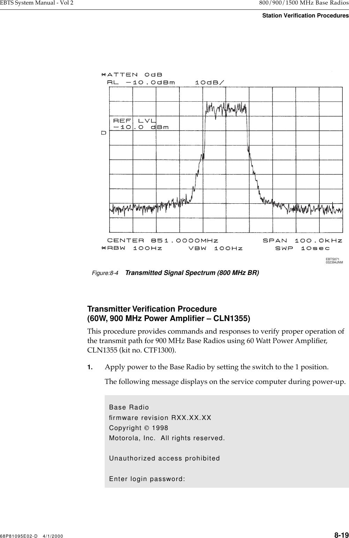 Motorola Solutions 89FC5794 Enhanced Base Transceiver System