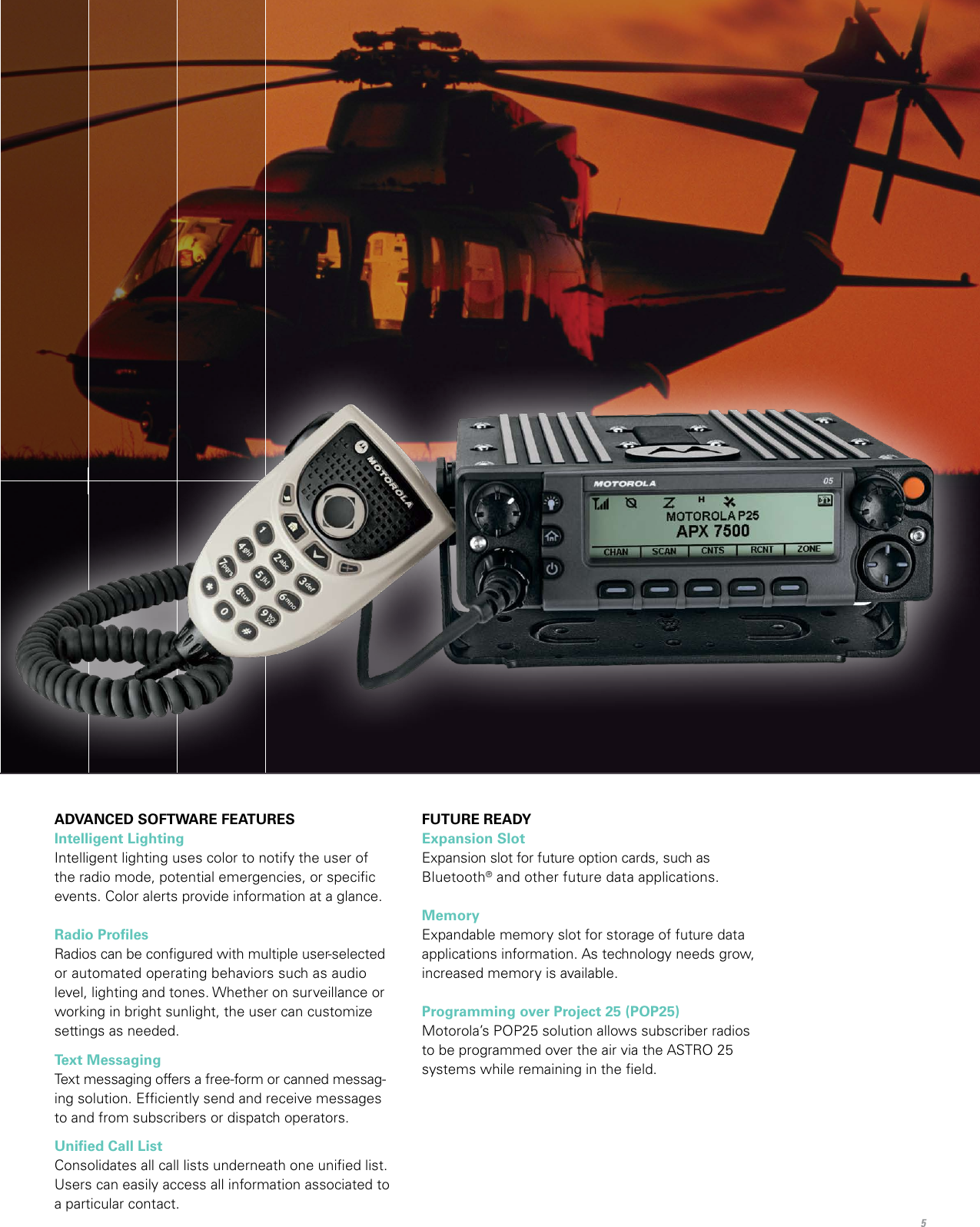 Motorola Apx 7500 Users Manual Mobile For Federal Markets