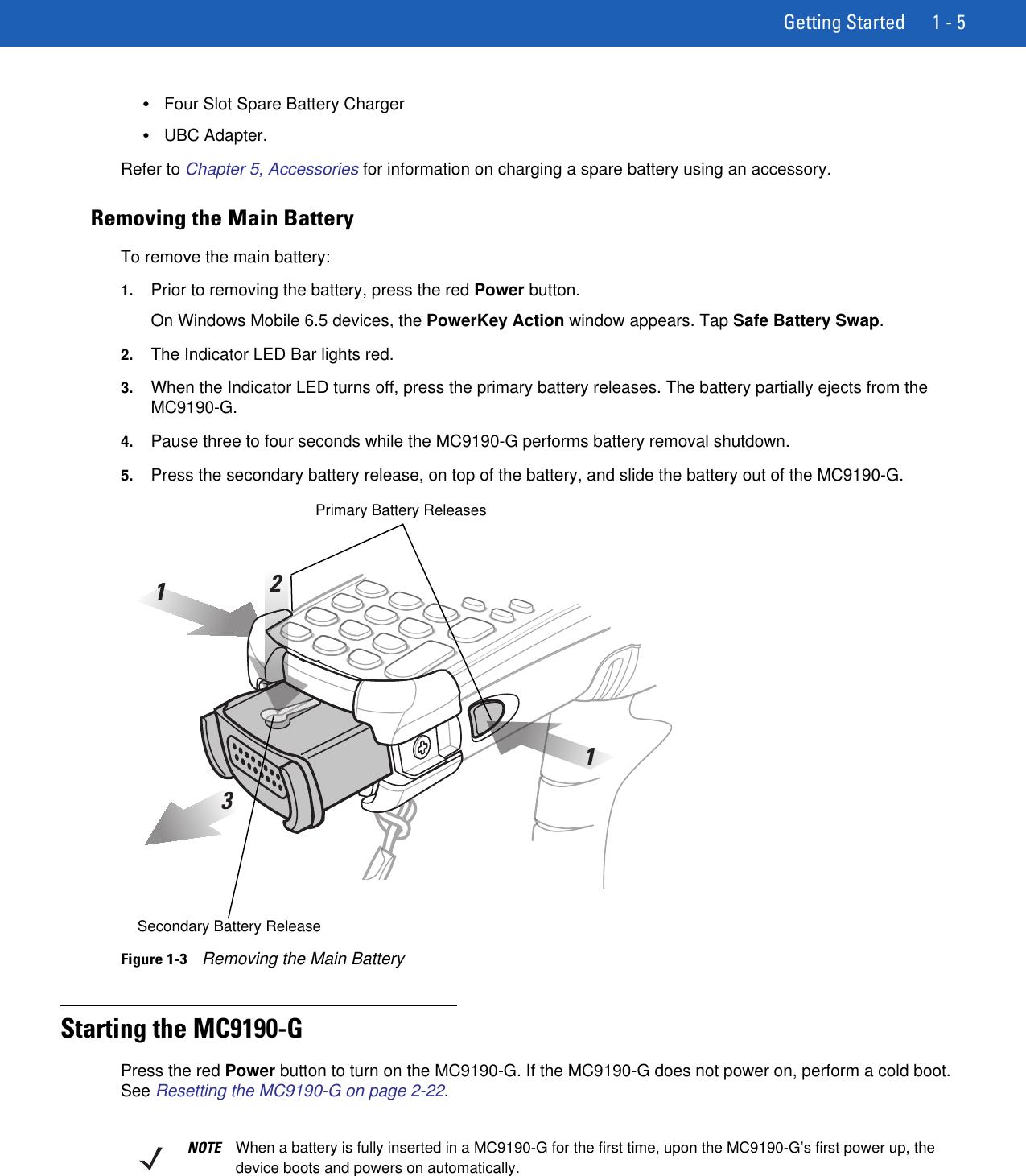 Motorola Mc9190 G Users Manual User Guide {English] (P/N 72E