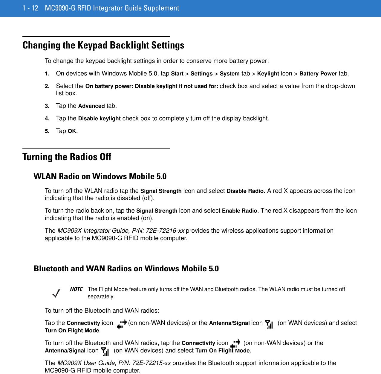 Motorola Barcode Reader Mc9090 G Users Manual