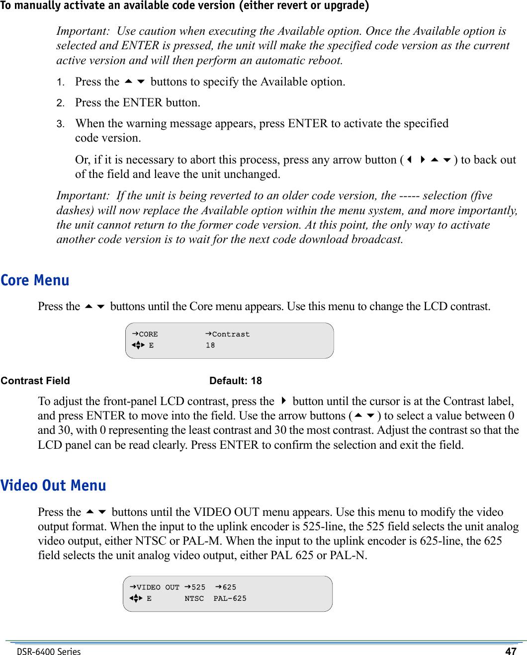 Motorola Car Satellite Radio System Dsr 6400 Users Manual