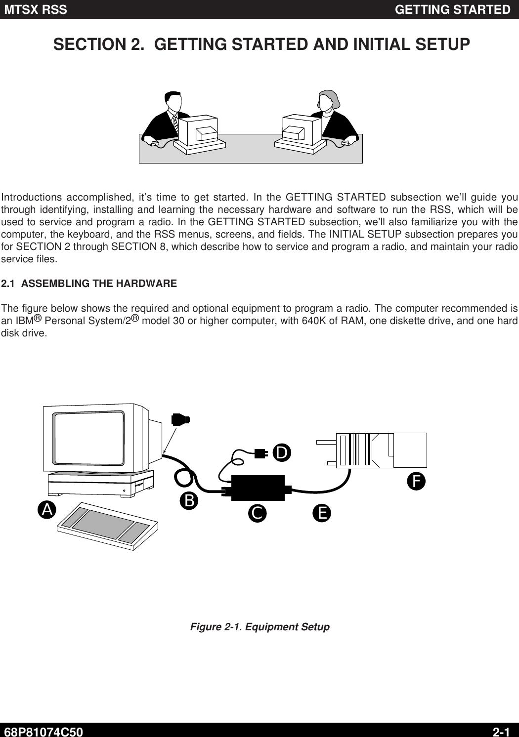 Motorola Two Way Radio Mt2000 Users Manual 74C50 J MT 2000