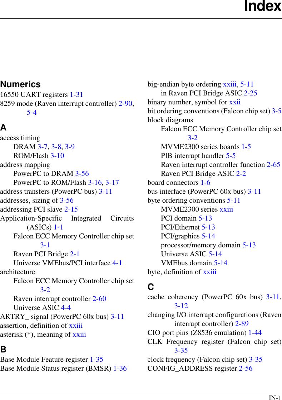Motorola Mvme2300 Series Users Manual VME Processor Module