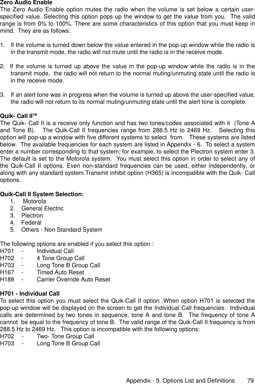 Motorola Saber Rvn4002K Users Manual 62C95 F Portable Radios
