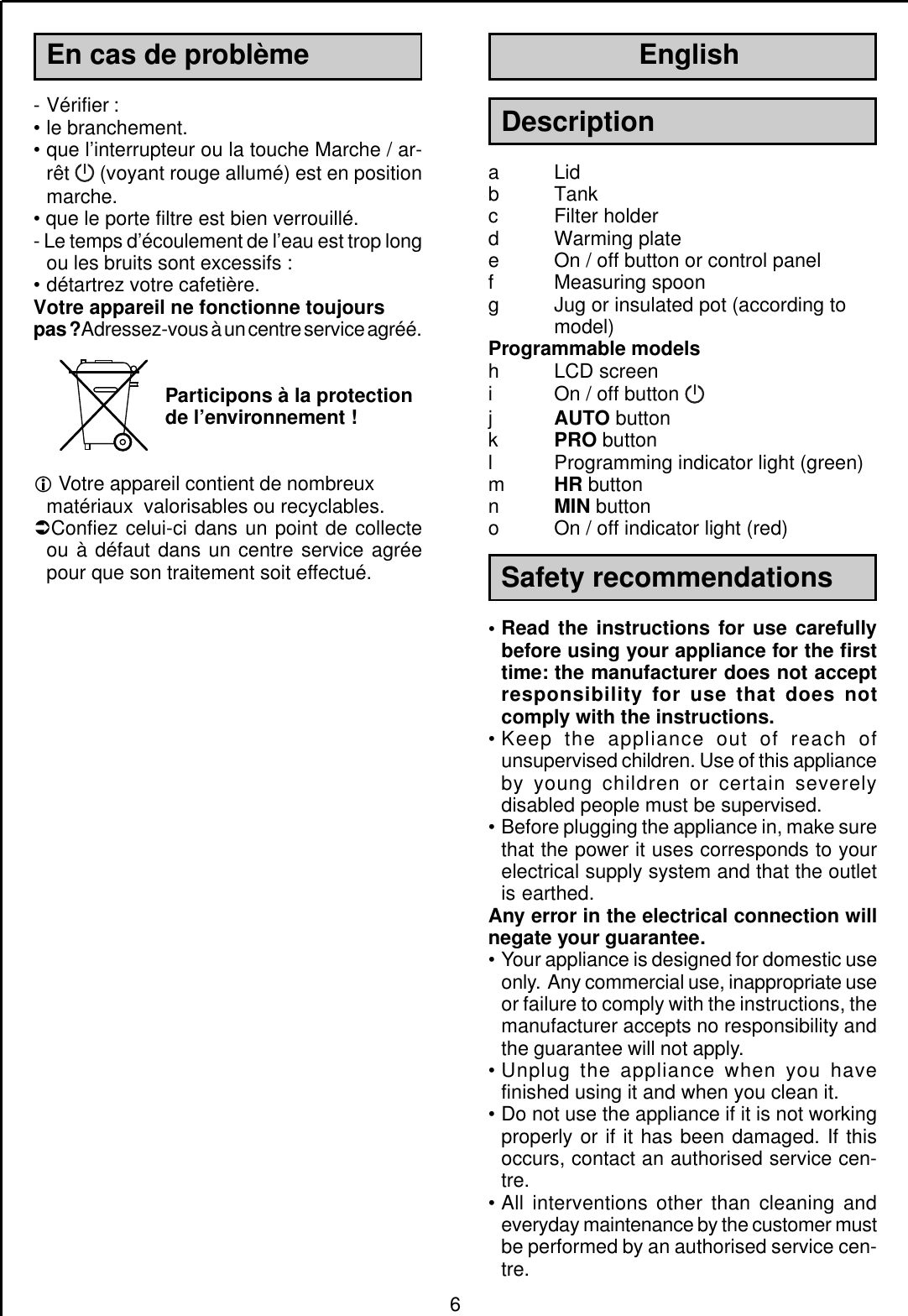 Moulinex Subito Instruction Manual Manualslib Makes It Easy