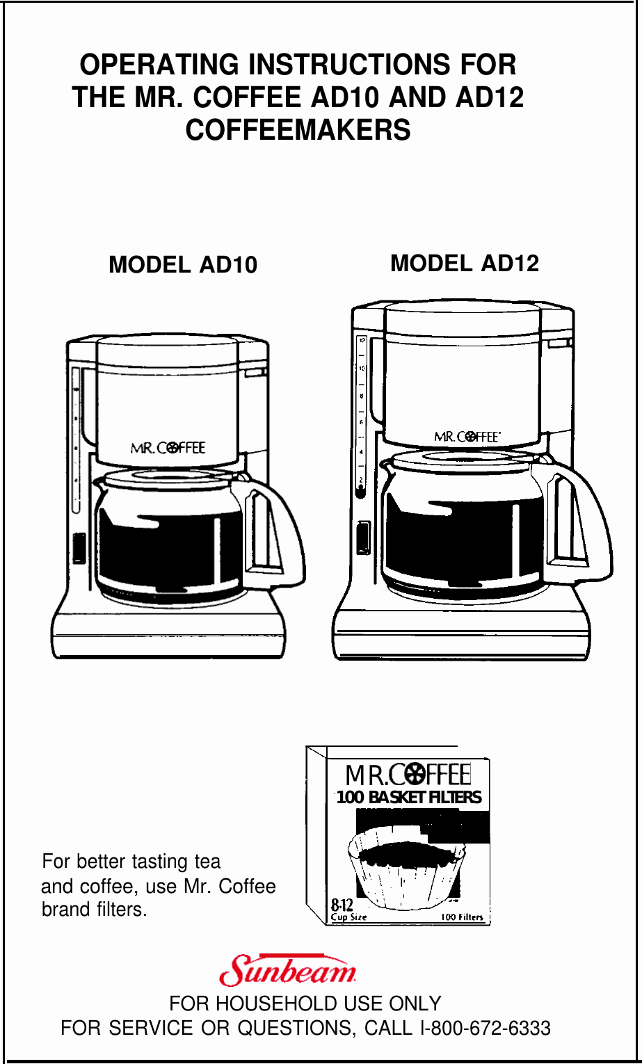 Mrcoffee Ad10 And Ad12 Users Manual 21
