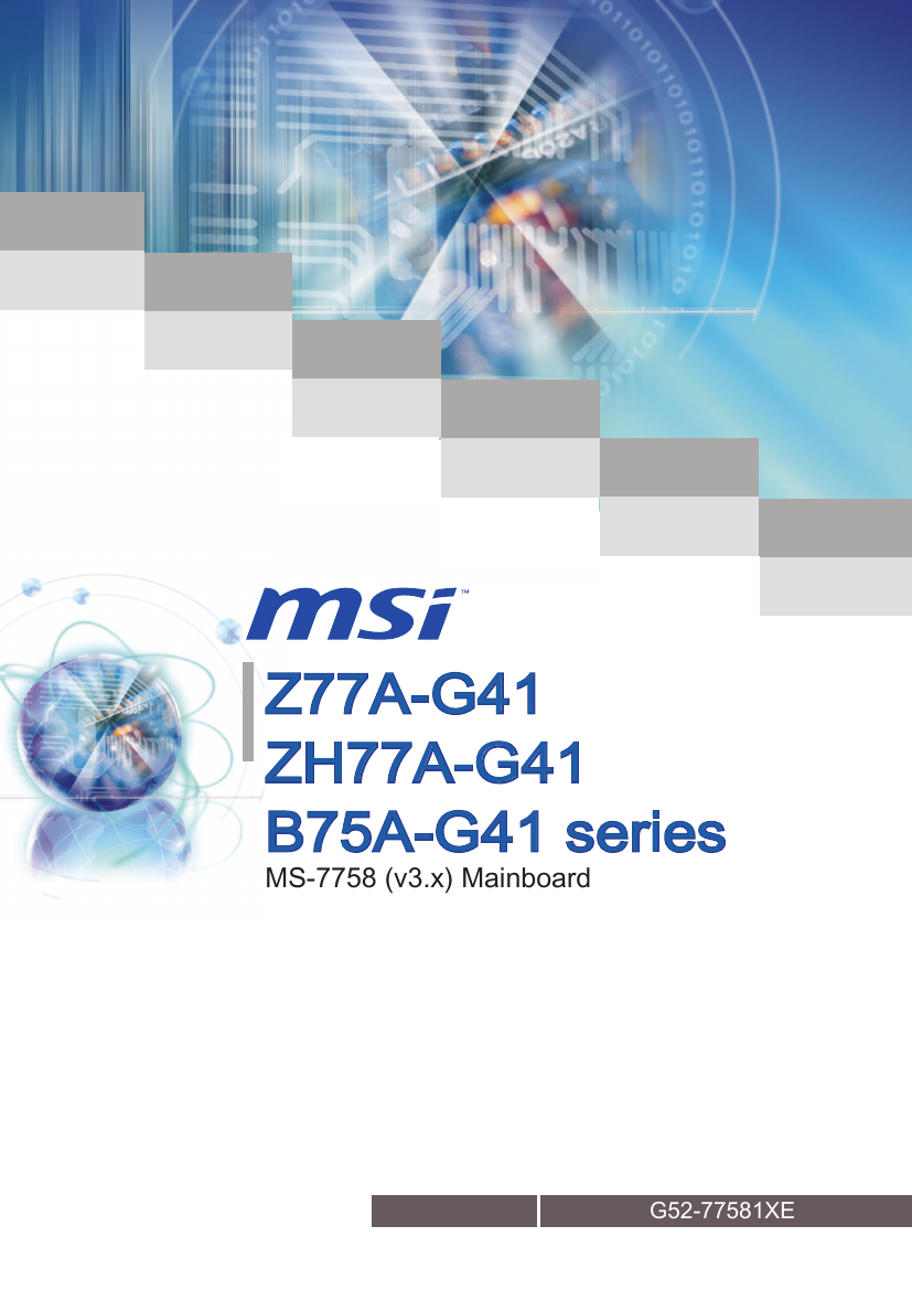 MSI Z77A-G41 PLUS INTEL SMART CONNECT TECHNOLOGY DRIVER UPDATE