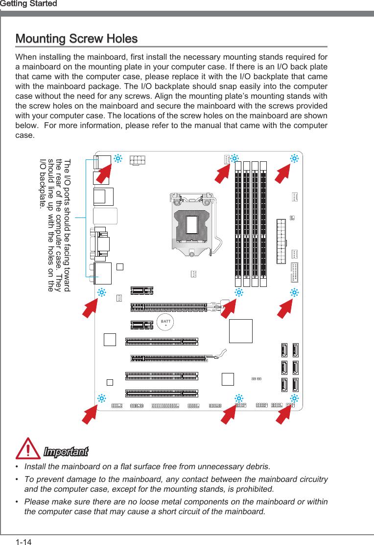 Msi Z77A G43 Gaming Owner S Manual