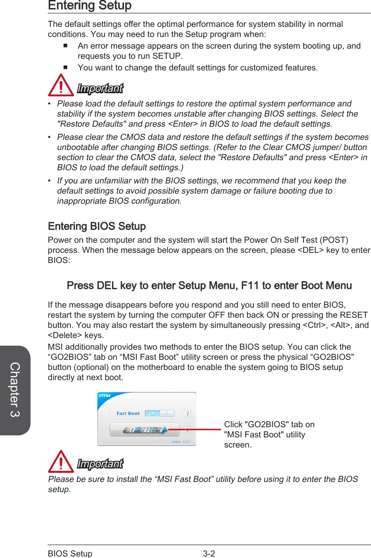 Msi Z87 Gd65 Gaming Owner S Manual