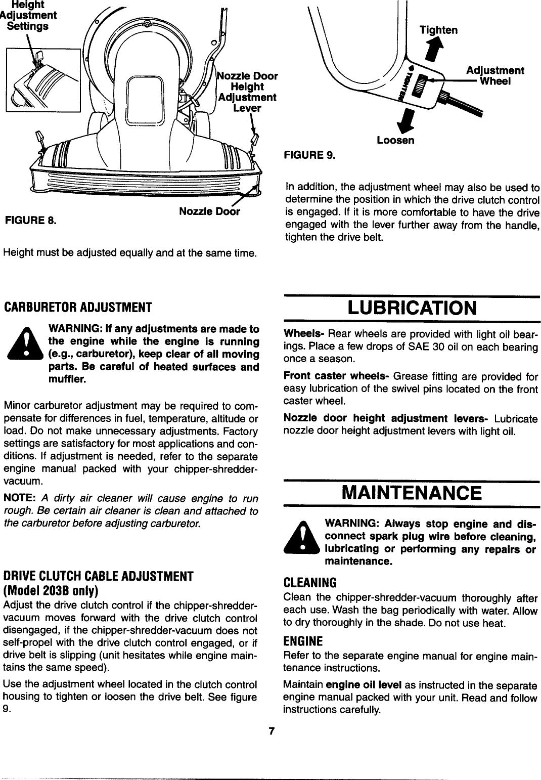 Page 7 of 12 - Mtd Mtd-Yard-Man-203B-Users-