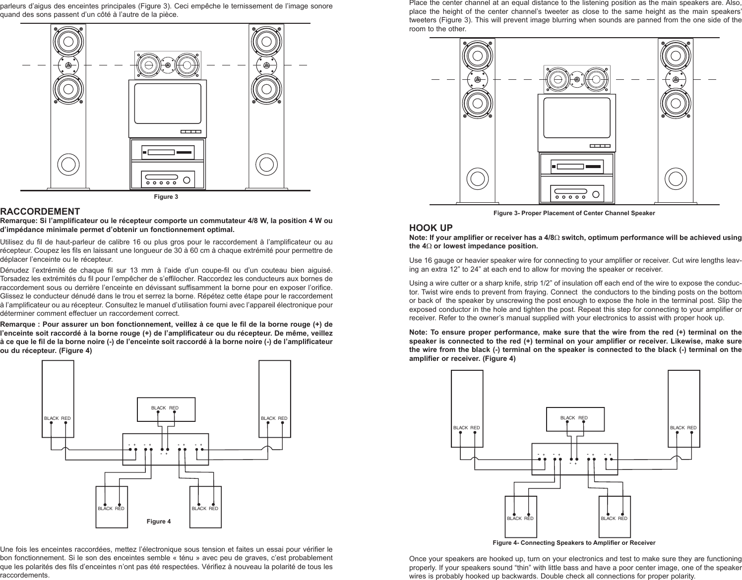 Mtx Audio Monitor5i Users Manual Monitor Owners 21a8297 3 Channel Amp Wiring Diagram Page Of 6
