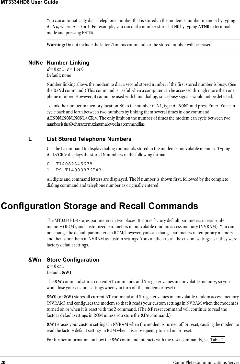 Multi Tech Systems Mt3334Hd8 Users Manual