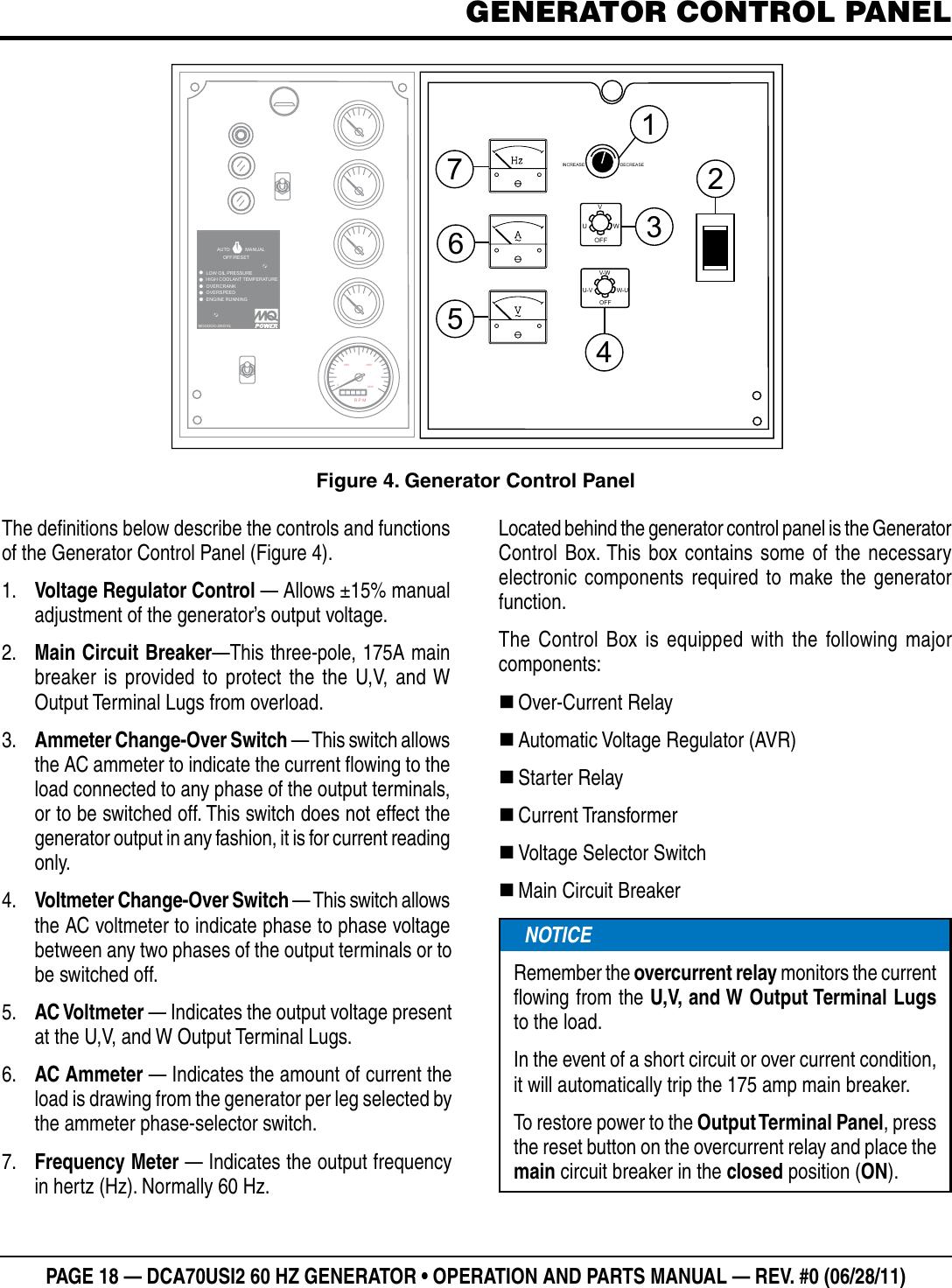 Multiquip Dca70Usi2 Users Manual