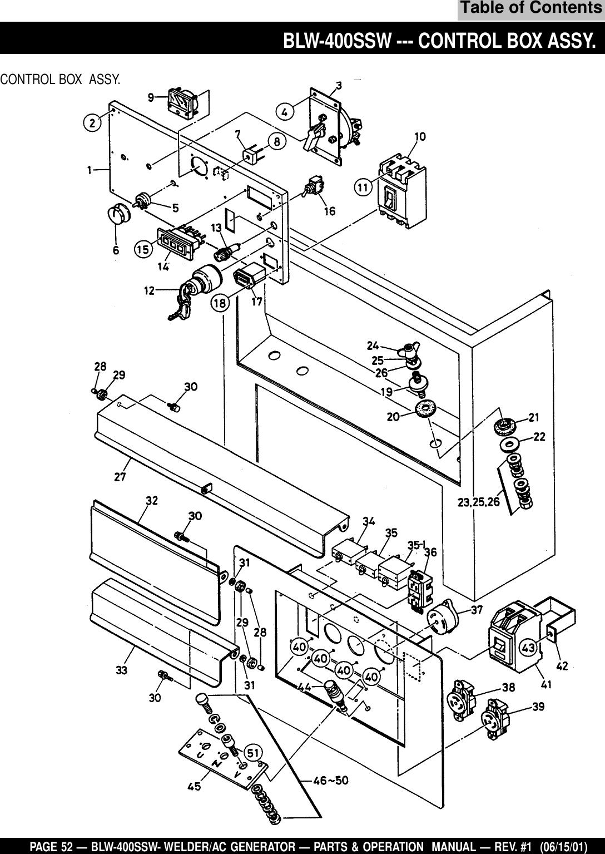 Welder Generator Wiring Schematic on