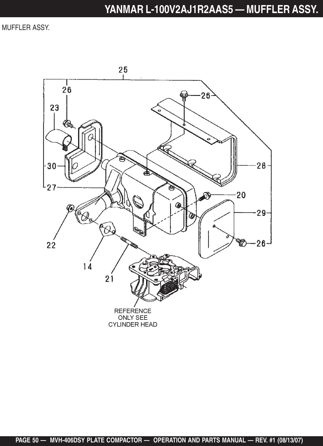 Multiquip Trash Compactor Mvh 406Dsy Users Manual rev 1 PMD