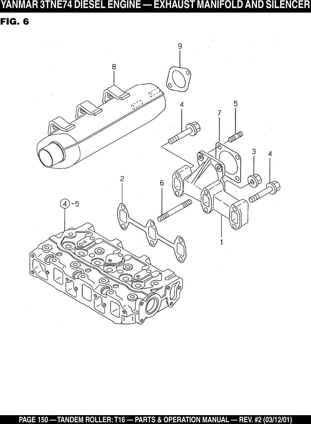 Multiquip T16 Users Manual (Rev 2) p65