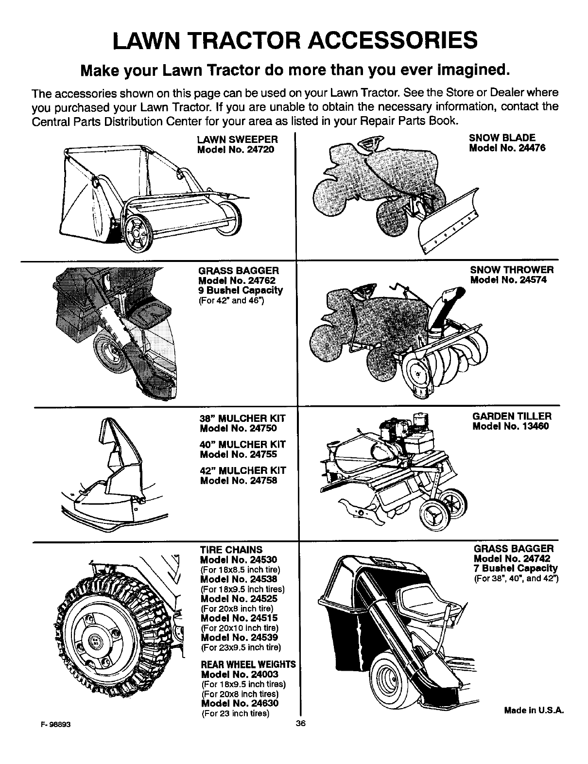Murray 46569x9a User Manual Tractor Manuals And Guides L0104222 Motion Drive Diagram Parts List For Ridingmowertractor Lawn Accessories