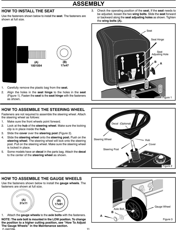 Murray 425620X92A Users Manual F040729L