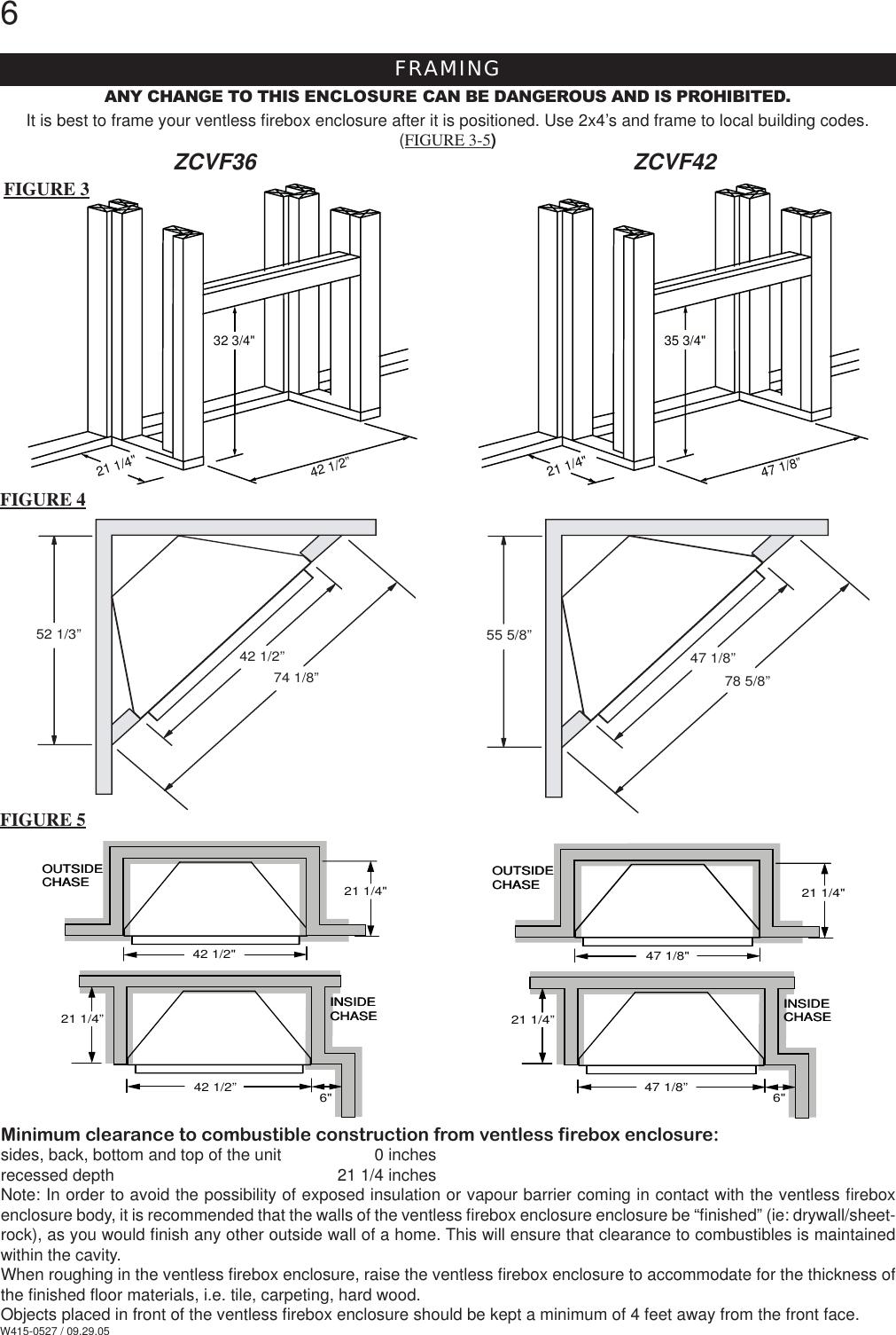 Napoleon Fireplaces Zcvf36 Users Manual W415 0527