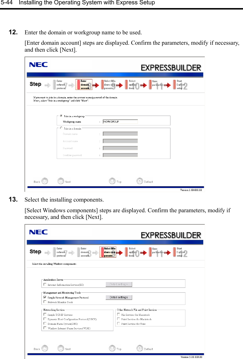 Nec Express5800 R120A 1 Users Guide Express5800/R120a