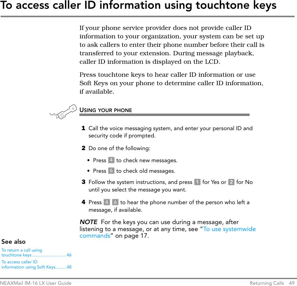 Nec Im 16 Lx Users Manual UG_PH_MM_book
