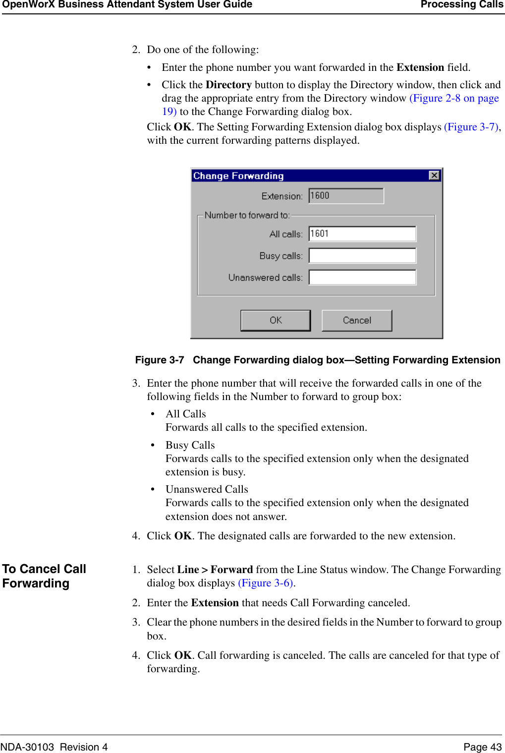 Nec Nda 30103 004 Users Manual OpenWorX Business Attendant