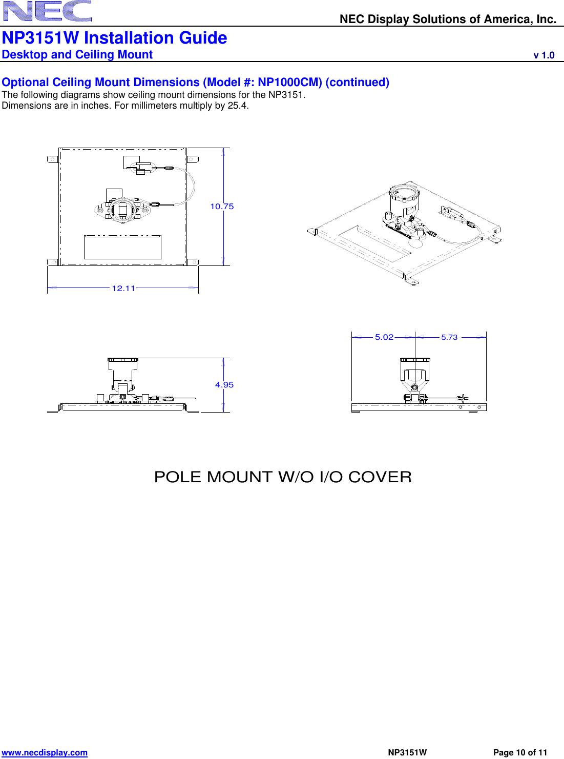 ... Array - nec np3151w users manual visual systems rh usermanual wiki