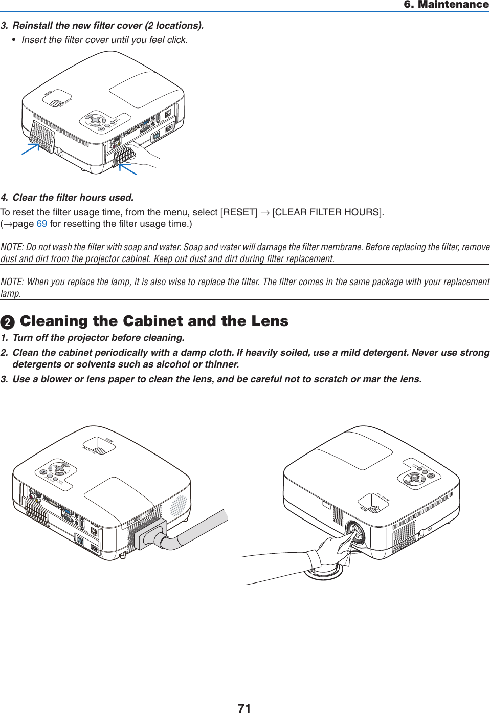 Nec Np400 Users Manual