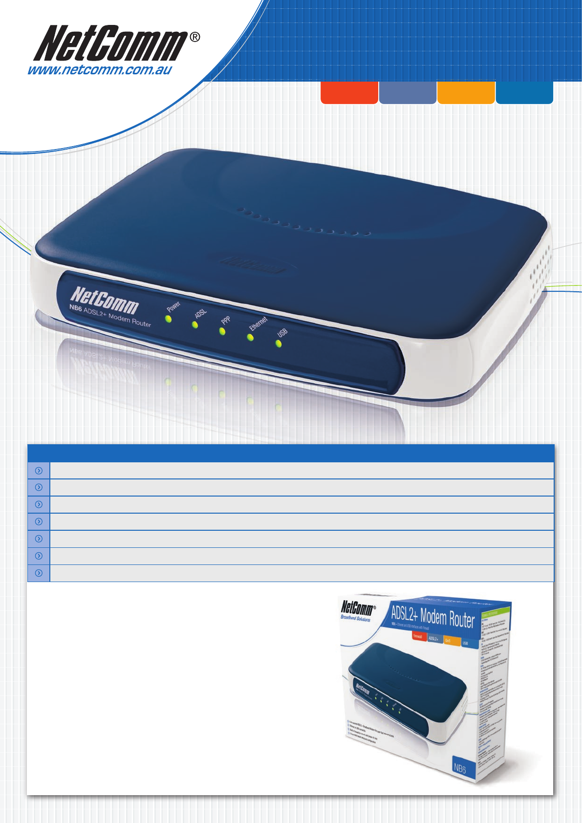 netcomm nb6 firmware