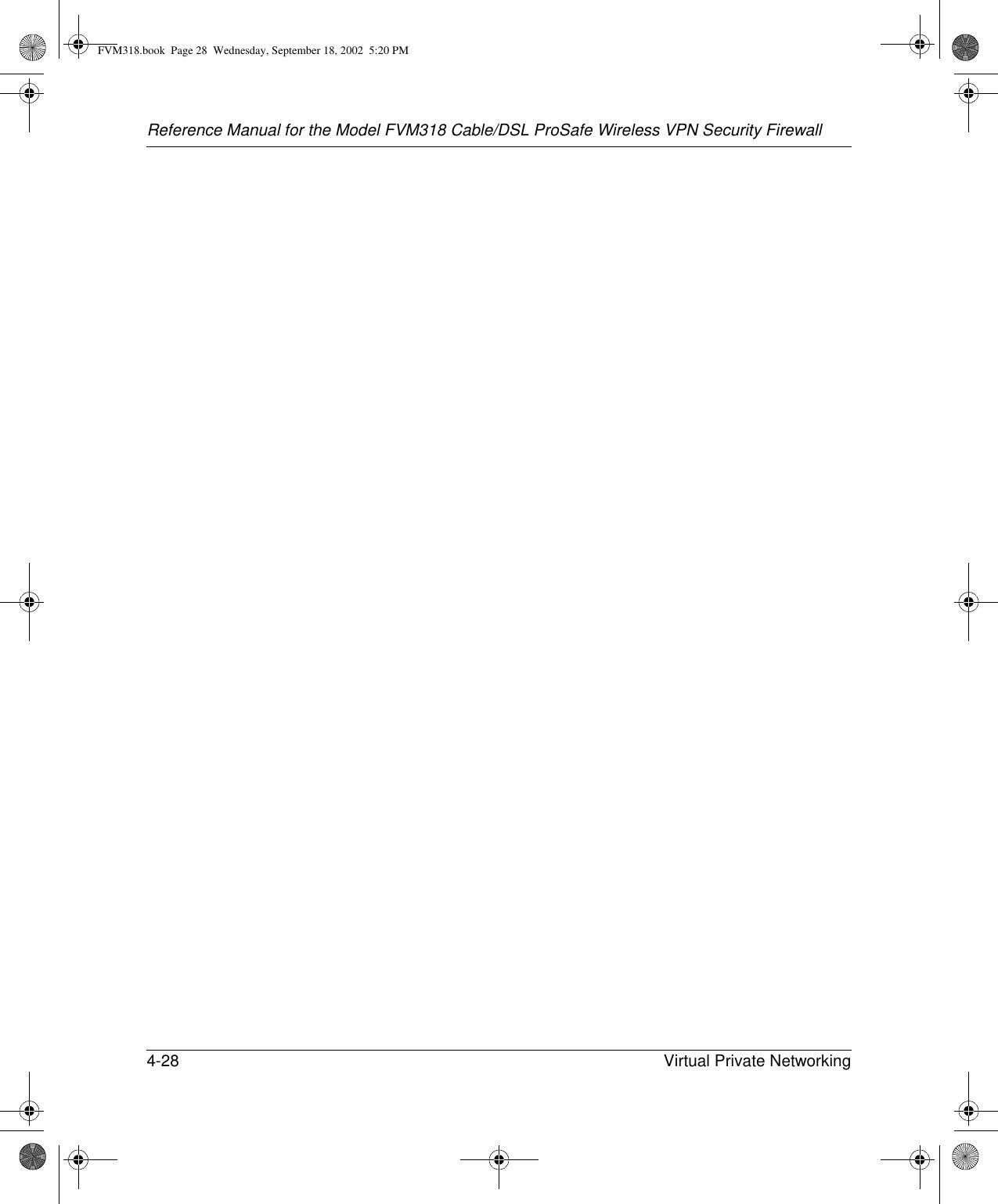 Netgear Orporated Fvm318 Wireless Router User Manual Vpn Diagram