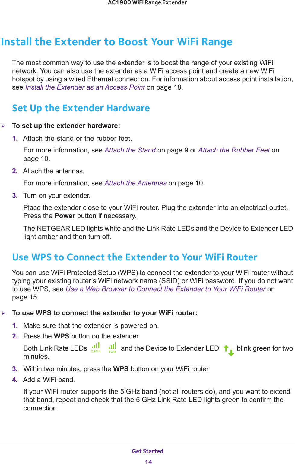 Netgear Ex7000 User Guide Nighthawk AC1900 WiFi Range Extender